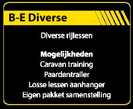 B-E-Pakket-Diverse